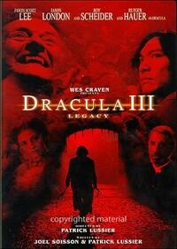 Bild (Wes Craven presents) Dracula III: Legacy