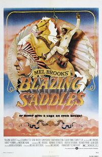 Bild Blazing Saddles