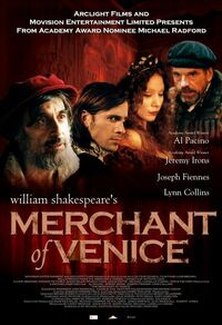 image William Shakespeare's The Merchant of Venice