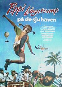 Bild Pippi Långstrump på de sju haven