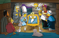 image Simpsons Christmas Stories
