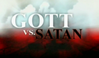 Bild God vs. Satan