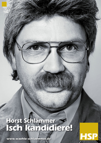 Bild Horst Schlämmer - Isch kandidiere!