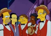 Bild Homer's Barbershop Quartet