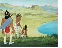 Bild Les indiens des plaines du 18ème siècle
