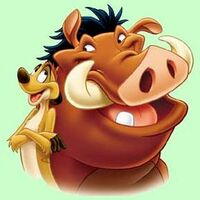 Bild The Lion King's Timon & Pumbaa