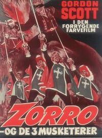 Bild Zorro e i tre moschettieri