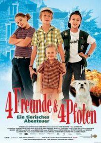 Bild 4 Freunde und 4 Pfoten