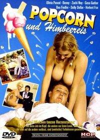 Bild Popcorn und Himbeereis