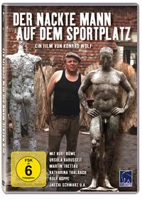 Bild Der nackte Mann auf dem Sportplatz