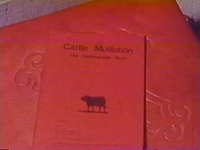 Bild Cattle Mutilation