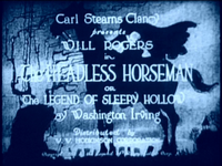 Bild The Headless Horseman or The Legend of Sleepy Hollow