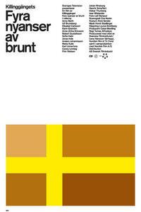 Bild Fyra nyanser av brunt