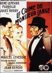 Bild Le crime de Monsieur Lange