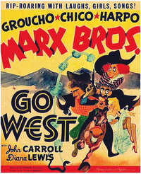 Bild Marx Brothers - Go West