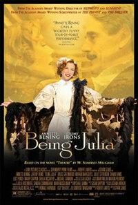 Bild Being Julia