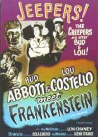 Bild Bud Abbott Lou Costello meet Frankenstein