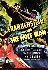 Bild Frankenstein meets the Wolf Man