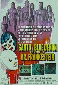 image Santo y Blue Demon contra el doctor Frankenstein