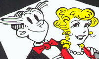 Bild Blondie and Dagwood