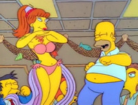 image Homer's Night Out