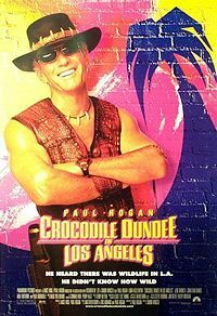 Bild Crocodile Dundee in Los Angeles