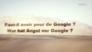 Wer hat Angst vor Google?