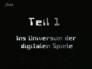 Ins Universum der digitalen Spiele